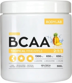 Bodylab BCAA Instant 300 g - ananas